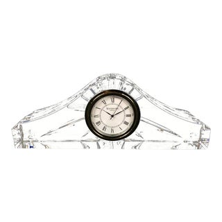 Waterford Crystal Mantle Clock