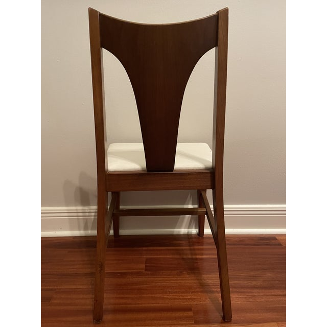 Johnson Carper Mid Century Johnson Carper Walnut Desk Chair For Sale - Image 4 of 8