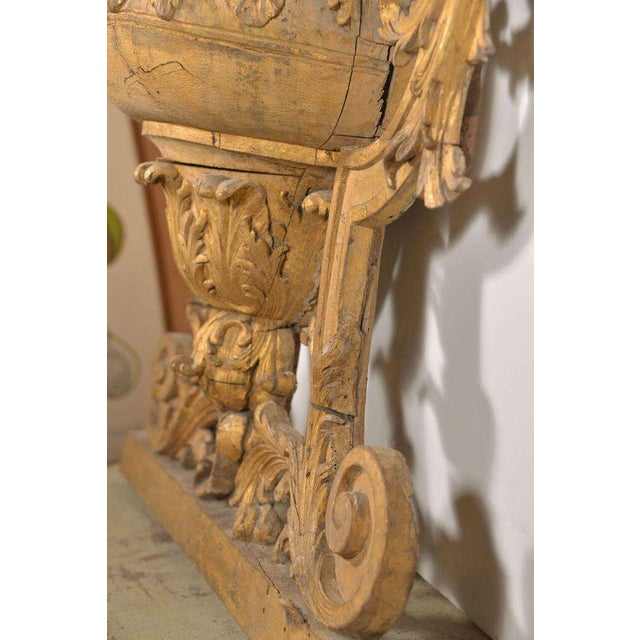 Large 18th Century Louis XVI Carved Urn For Sale - Image 5 of 9
