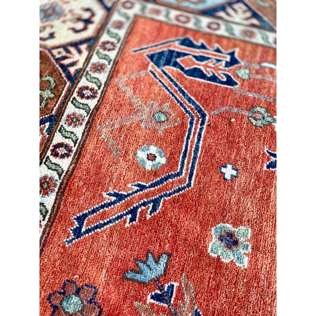 1990s Serapi Large Area Rug-10′ × 13′9″ For Sale - Image 9 of 13