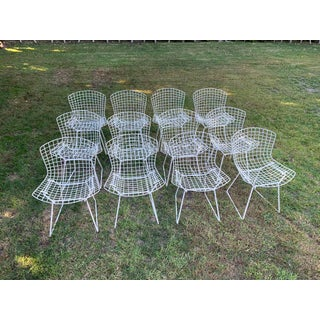 Late 20th Century Bertoia Outdoor Side Chairs- Set of 12 Preview