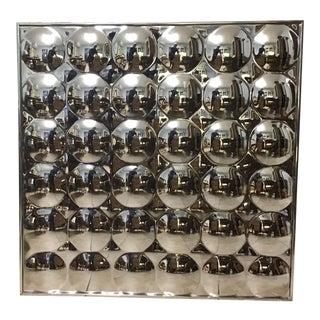 Mid Century Modern Bubble Convex Mirror For Sale