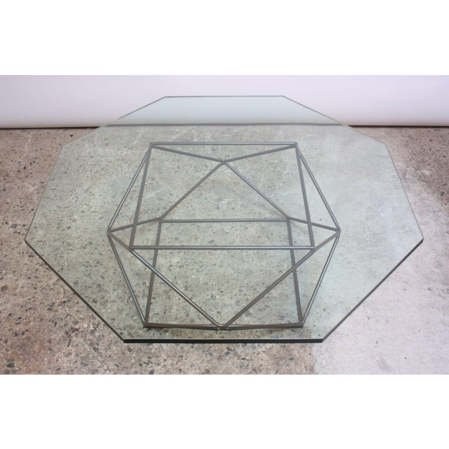 Milo Baughman for Directional Geometric Bronze Coffee Table For Sale - Image 13 of 13