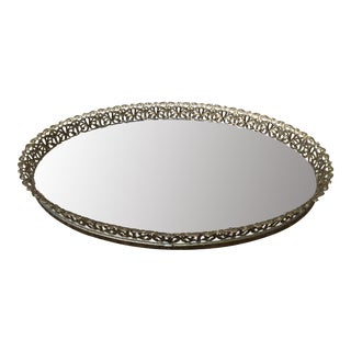 Antique Oval Vanity Tray
