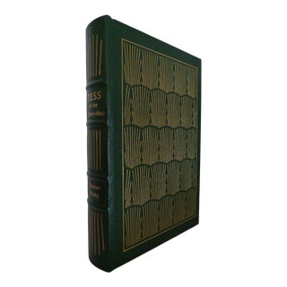 1980s Vintage Decorative and Illustrated Easton Press Green Leather Book, Hardy's Tess of the d'Urbervilles For Sale