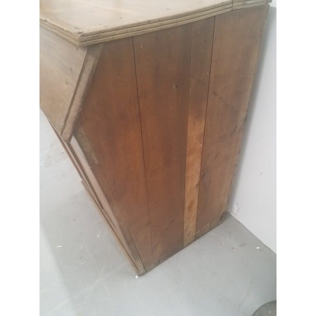 Wood Antique Coffee Bin For Sale - Image 7 of 13