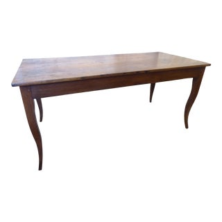 18th Century French Oak Dining Table For Sale