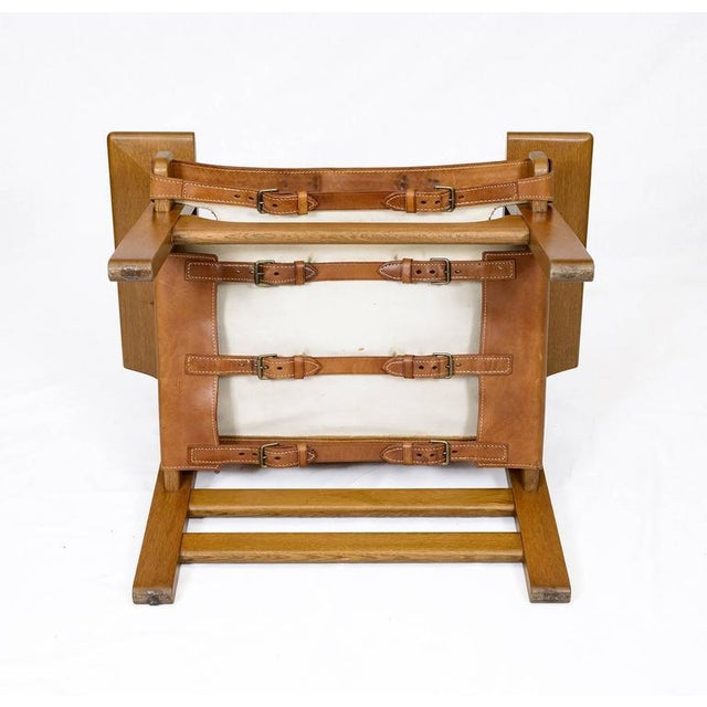 """Pair of Børge Mogensen """"Spanish"""" Chairs For Sale - Image 10 of 10"""