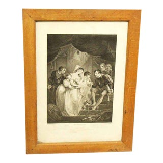 Vintage Shakespeare Print For Sale