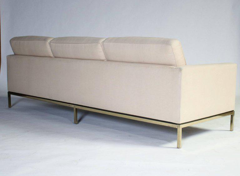 Bon Knoll Florence Knoll Three Seat Sofa For Sale   Image 4 Of 5