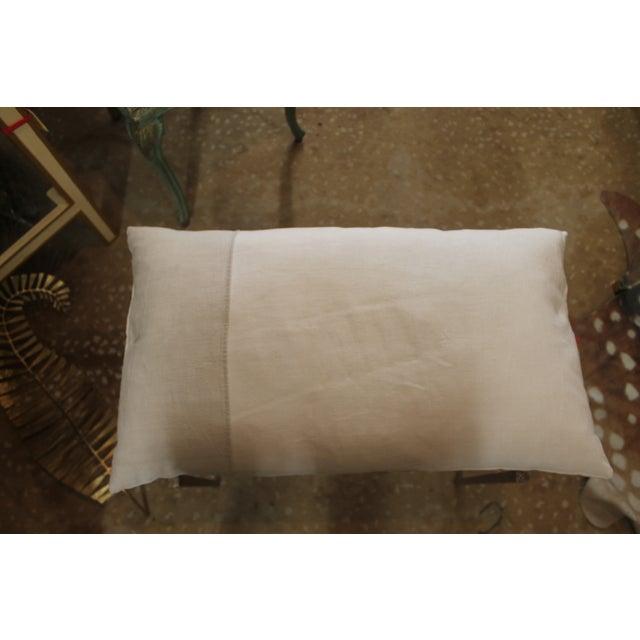Handmade Steel Pillow Bench - Image 5 of 7