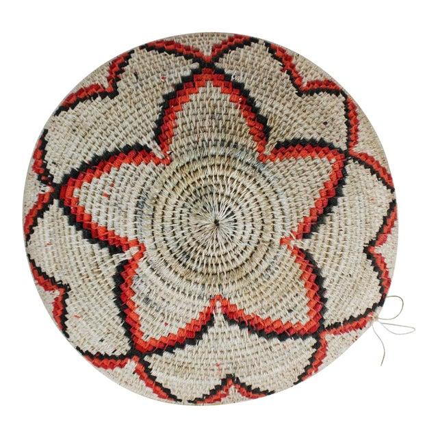 Ghanian Orange Basket For Sale