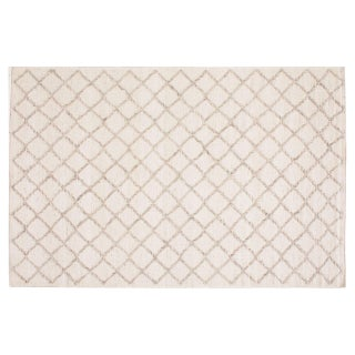 Stark Studio Rugs Contemporary Flatweave Wool Rug - 5′11″ × 9′5″ For Sale
