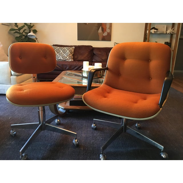 Modern Vintage Steelcase Office Chairs - A Pair For Sale - Image 3 of 7