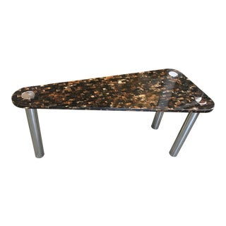 Tessellated Horn Console Table For Sale