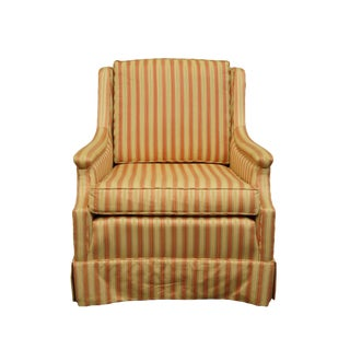 Late 20th Century Vintage Hickory Accent Chair For Sale