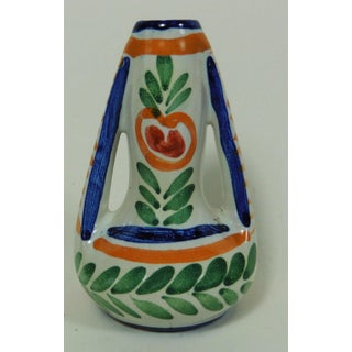 1930s Vintage French Faience Breton Vase Preview