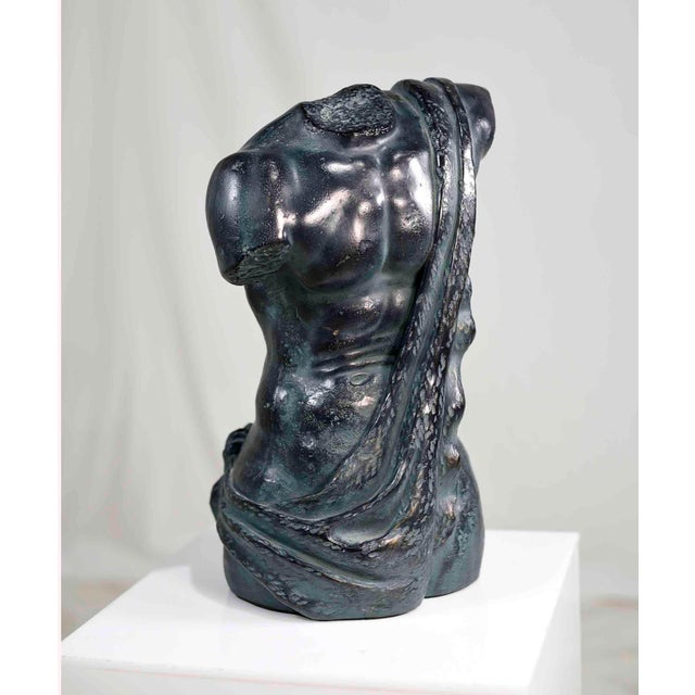 """Nicely executed historical replica, bust of classical figure. Measures an impressive 8""""Wx8""""Dx14""""H. Material type:..."""