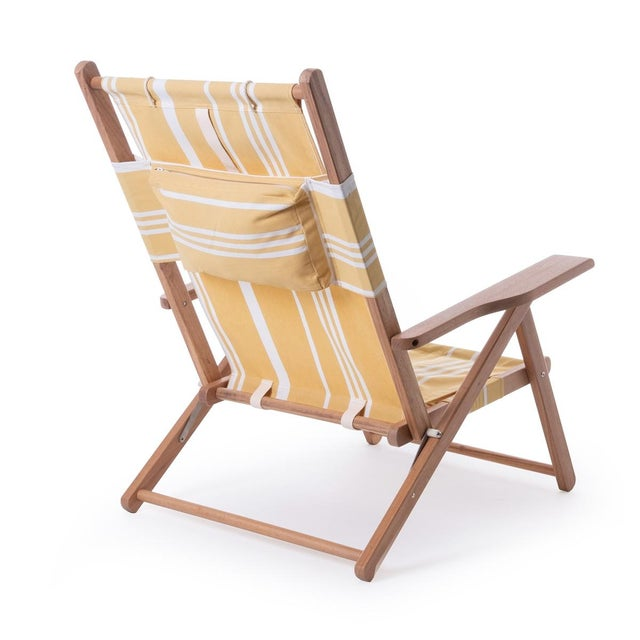 Meet our practical yet beautiful TOMMY chair in the Vintage Yellow Stripe and natural wood finish. The Tommy Chair is...