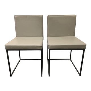 Calligaris Even Plus Side Chairs - a Pair For Sale