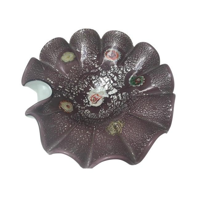 Italian Art Glass Low Bowl - Image 1 of 6