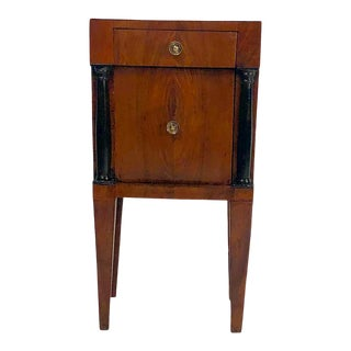 1810s Italian Neoclassical Bedside Cabinet For Sale