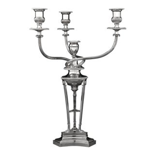 Matthew Boulton Sheffield Plate Candelabrum For Sale