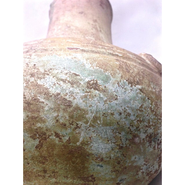 Chinese Han Dynasty Green Glaze Hu Form Vessel For Sale - Image 11 of 11