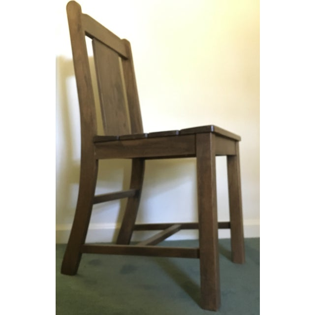 1969 Vintage Wooden Chair - Image 3 of 9