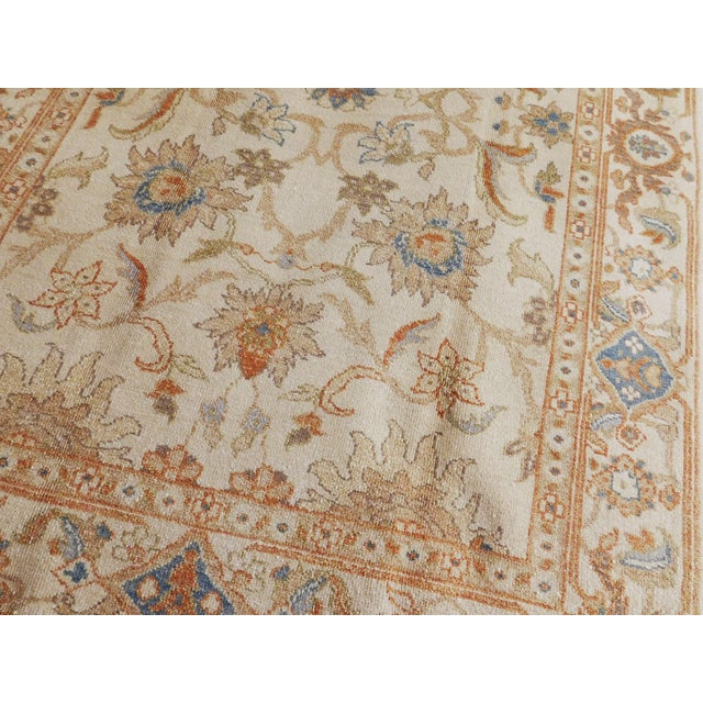 Chinese Hand Knotted Chinese Ziegler Rug - 4′ × 6′ For Sale - Image 3 of 10