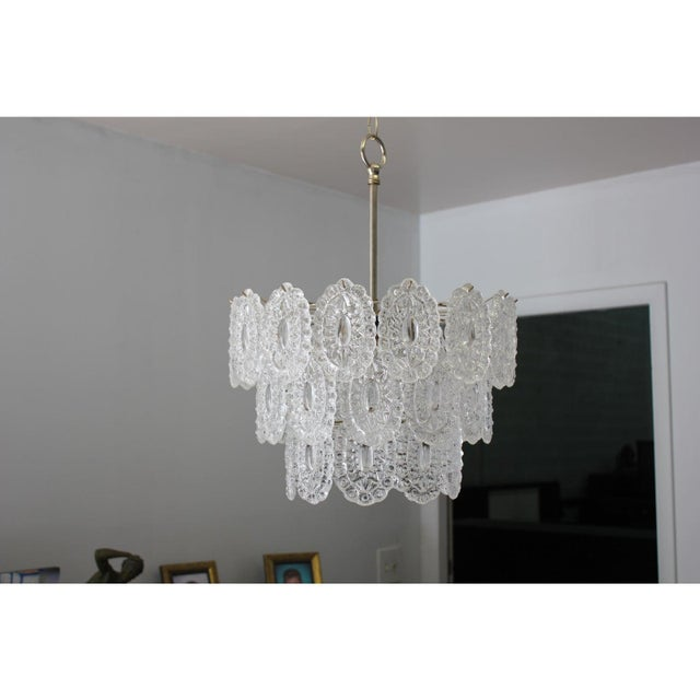 Italian Modern Chandelier by Murano Glass, Circa 1960s For Sale - Image 11 of 12