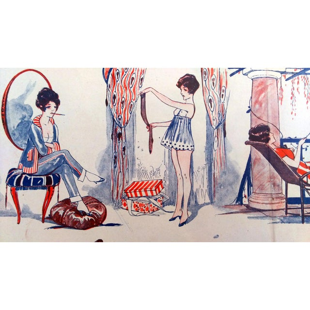 """1919 Le Sourie """"Girls Day Off"""" Print - Image 7 of 10"""