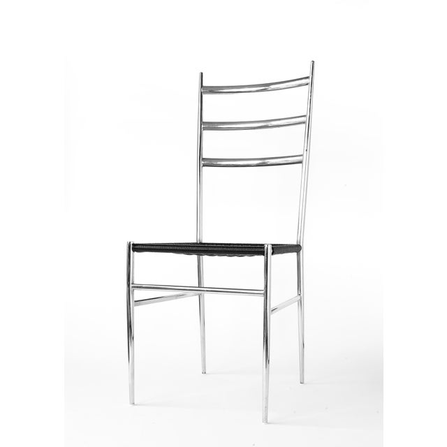 Gio Ponti Style Superleggera High Back Chair For Sale - Image 12 of 12