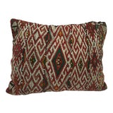 Image of Moroccan Berber Handwoven Tribal Throw Pillow For Sale
