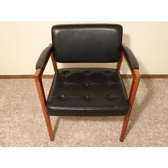 Svegards Markaryd Mid Century Danish Modern Svegards Markaryd Arm Chair For Sale - Image 4 of 11