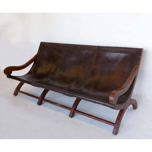 Leather Butaca Sofas - Image 9 of 9