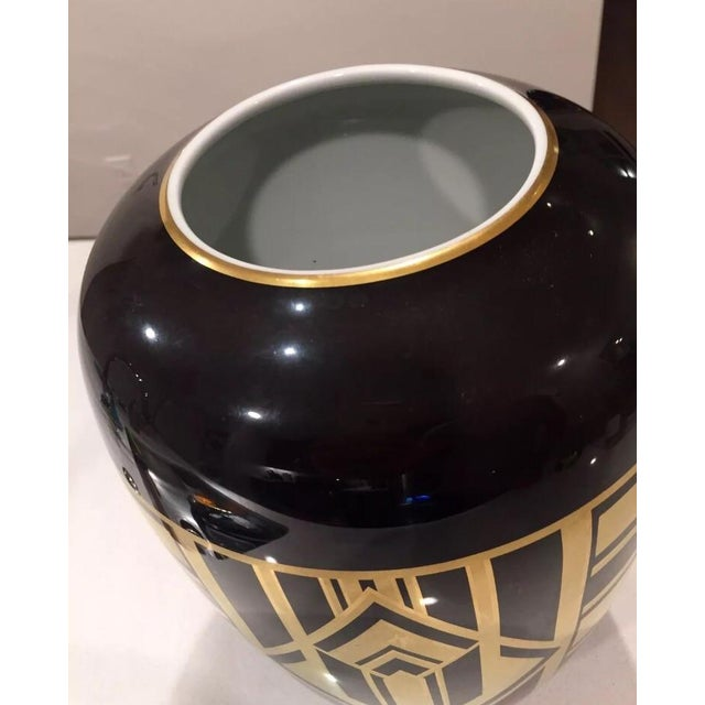 "Ralph Lauren ""Callia"" Diamond Art Deco Vase - Image 5 of 6"