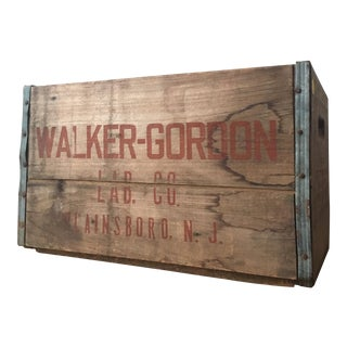 Walker-Gordon Lab Co Crate
