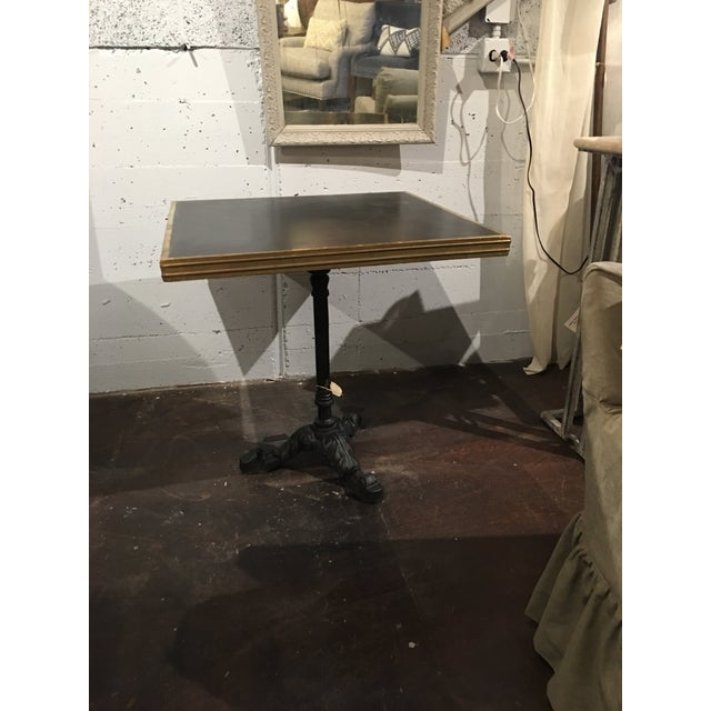 Vintage French Bistro Table For Sale - Image 11 of 13
