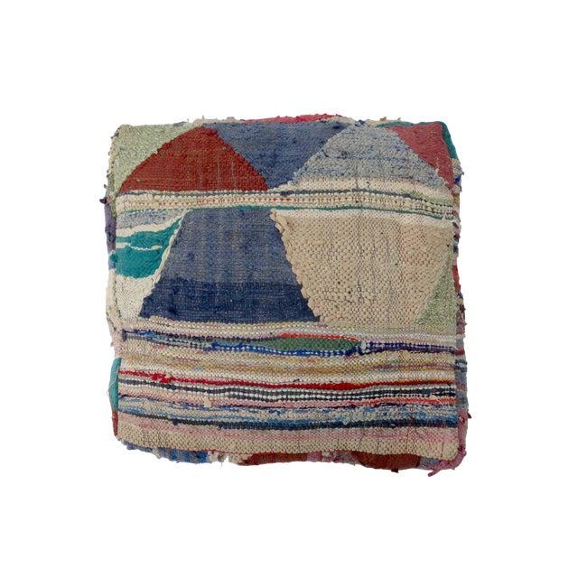 'Ringo Starr' Moroccan Wool Floor Pillow For Sale