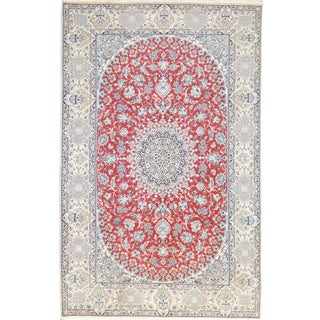 Mansour Original Handwoven Persian Nain For Sale