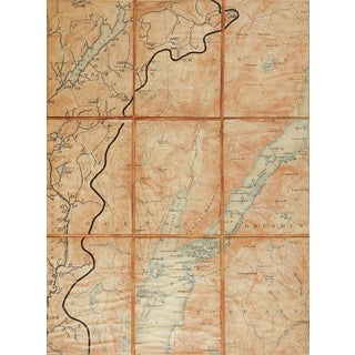 Bolton New York 1897 Us Geological Survey Folding Map For Sale