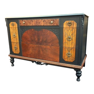 20th Century Art Nouveau Heirloom Artisan Dresser For Sale
