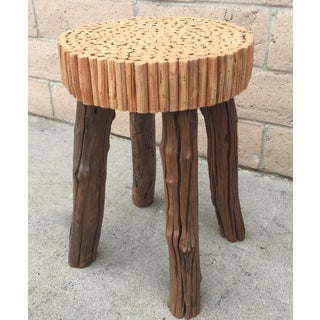 Modern Wooden Bubble Stool Preview