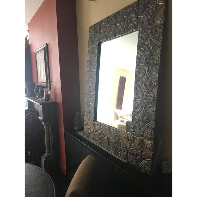 Large Metal Framed Mirror - Image 3 of 4