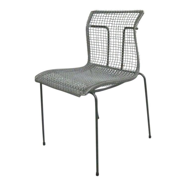 Fine Original Pre Ion Prototype Wire Desk Chair By Niall O Flynn Decaso