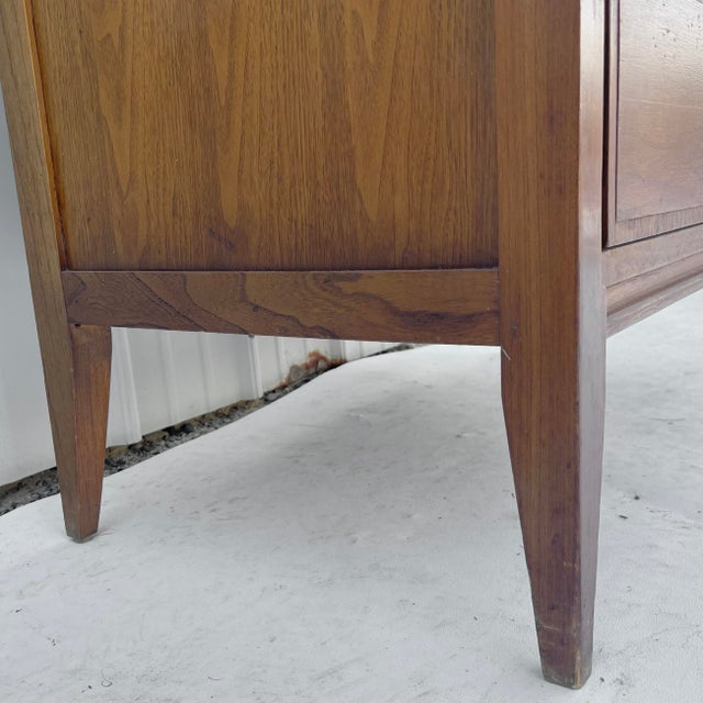 Brown Mid-Century Highboy Dresser From Basic-Witz For Sale - Image 8 of 13