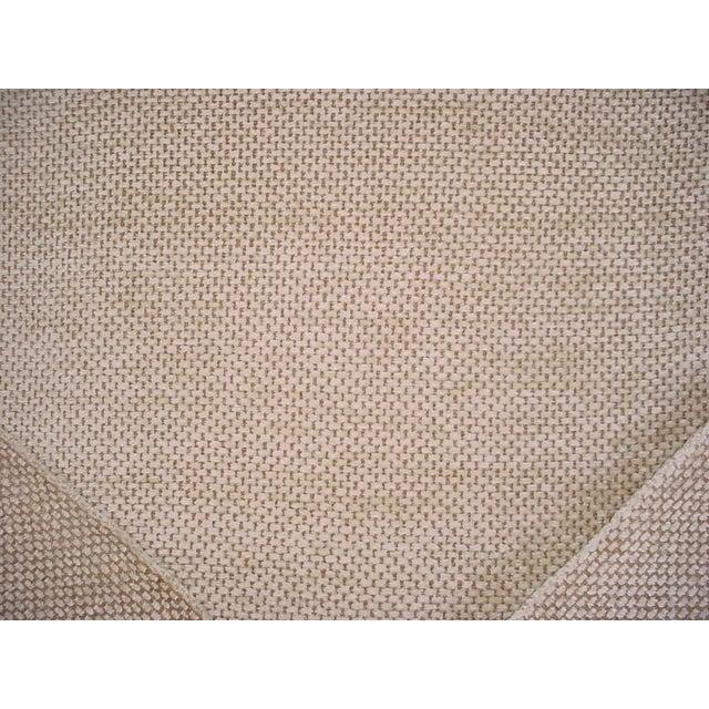 Schumacher Schumacher Mafalda Chamois Beige Plush Chenille Upholstery Fabric- 3 Yards For Sale - Image 4 of 5