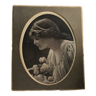 1920s Americana Printed Chocolate Box For Sale