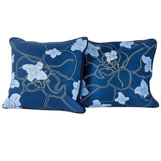 Hawaiian Floral Print Pillows For Sale